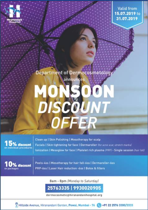 Monsoon Discount Offer